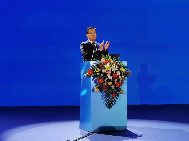 淄博市委副书记、代理市长马晓磊致辞
